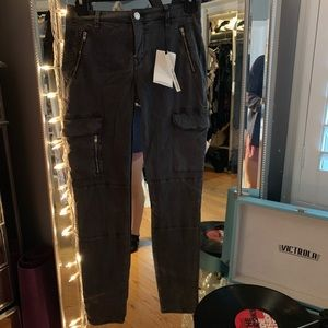 Zara army cargo pants